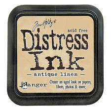 Tim Holtz - Distress Ink Pad - Full Size - Antique Linen - Brown