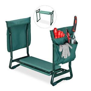 Kniebank 2in1 Kniehilfe Gartensitz Kniekissen Garten Arbeitshocker bis 150 kg