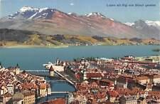 B106151 Switzerland Luzern mit Rigi von Guetsch Gesehen
