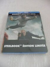 """Blu-ray Edition Steelbook """"Grimsby - Agent trop Spécial"""" - Neuf sous blister"""