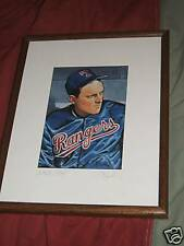 "NOLAN RYAN-BOWMAN Litho-Artist Signed ""Artist Proof"""