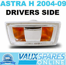 VAUXHALL ASTRA H NEW SIDE REPEATER INDICATOR LENS DRIVERS OFF SIDE SRI SXI VXR