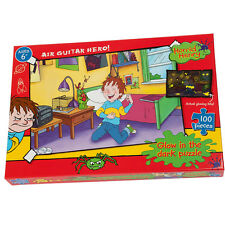 Horrid Henry Glow In The Dark Air Guitar Hero 100 Piece Jigsaw Puzzle