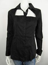 Denny Rose Damen Bluse Bloes Shirt 3780 Nero Schwarz L