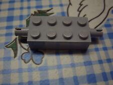 LEGO Brick 2x4 with Pins 6249 MdStone hellgrau Stein mit 2 Steckern 4407 4406