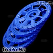 4x Main Drive Gear For T-rex TREX 450 SE/V2 Pro Sport Helicopter Blue RHS1219-84