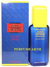 Aqua Quorum By Puig 3.3/3.4oz./100ml Edt Spray For Men New In Box