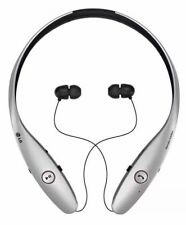 LG Tone Infinim HBS-900 Bluetooth Wireless Stereo Headset Silver Used