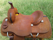"16"" Spur Saddlery Cutting Saddle - Made in Texas"
