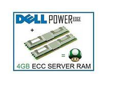 4GB (2x2GB) Memory Ram Upgrade for the Dell Poweredge SC1430, 1900 & 1955 Server