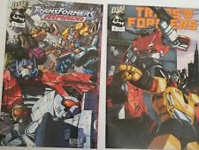 LOT OF 2 DW Transformers Armada #1 [July 2002]  & Transformers #4 JulyDW Comics