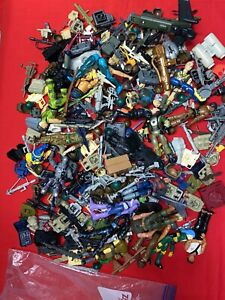 HUGE G.I. JOE/ Star Wars Action Figure Lot Of Accessories And Weapons....2.5lbs!