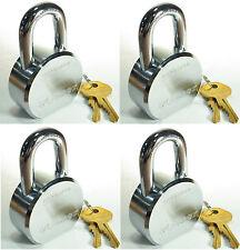 Lock Set by Master 6230KA (Lot of 4) KEYED ALIKE Solid Steel Extreme Security