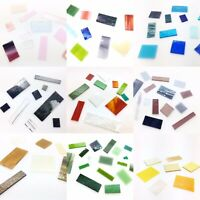 Large Bundle Bullseye Fusing Glass COE90 450g Fused Supplies Mixed Colours