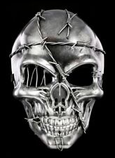 Barbed Wire Skull Mask - Fantasy Gothic Halloween Decor