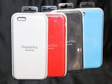 Set of 4 - Ultra-Thin Genuine Silicone Soft Case Cover For Apple iPhone 6 Plus