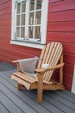 Gartenstuhl Adirondack - Lounge-Sessel / Gartensessel aus Massivholz