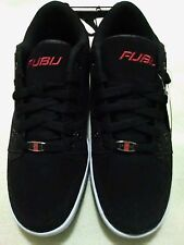 Fubu mens black tennis shoe sneaker sz 9 NEW