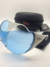 CHRISTIAN DIOR SKI 1 9A5 LK7 120 SUNGLASSES LIGT BLUE MIRROR  SOLD OUT