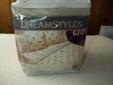 Dream Styles 4-Piece Full Cotton Flannel Sheet Set….New