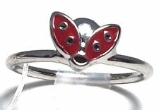 Costume Fashion Jewelry Knuckle Mid Rings Rings Size 4 Silver Metal Lady Bug NEW