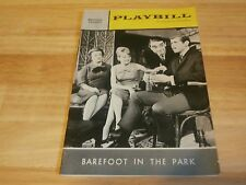 Vintage Playbill Program Barefoot In The Park 1965 Biltmore Theatre J. Keating