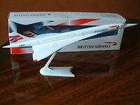 BA Concorde Airplane Model Aircraft G-BOAC Union Flag British Airways Genuine