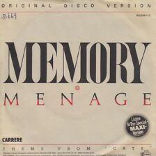 Vinyl Single : Menage - Memory (Disco version, Musical Cats) / dto.instr. D669