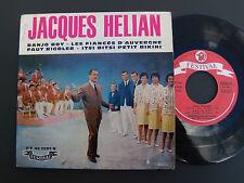 """JACQUES HELIAN + V MARCO & LES HELIANES: Faut rigoler (B VIAN) 7"""" FESTIVAL 2201"""