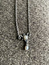 """Beautiful James Avery Victorian Pearl S Necklace 16"""" Retired Excellent Condition"""