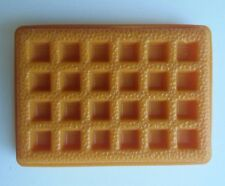 Vtg Fisher Price Fun w Play Food 4 Little Tikes Replacement Breakfast Waffle