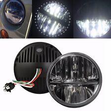 2x 7inch Round LED Headlight High/Low Beam Nissan Patrol GQ Ford Maverick MQ G60