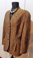 Vintage 1980s Size 12 Thomaiy Brown Wool Women's Jacket- 49cm Bust