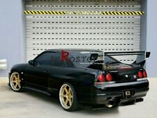 CARBON FIBER TOP-SECRET REAR DIFFUSER 3PCS WITH FITTING KIT FOR NISSAN R33 GTR
