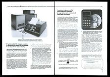 1976 HP-25C calculator photo vintage print ad