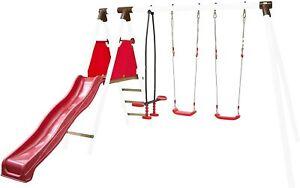 Kinderrutsche Rutsche Kinder Gartenrutsche Schaukel Spielturm für Rundholz NEU