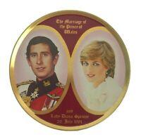 Vintage Princess Diana Prince Charles Royal Wedding Travel Sweets Smith Kendon
