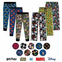Mens Lounge Pants   Star Wars PJs   Adult Superhero Pyjamas   Harry Potter PJS