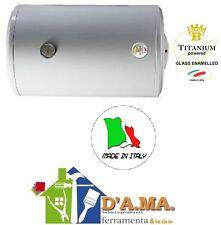 SCALDABAGNO ELETTRICO ORIZZONTALE BRAUN 80 LITRI MADE IN ITALY GARANZIA 2 ANNI