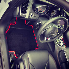 Audi R8 Custom Carpeted Floor Mats Coupe and Spider - Carbon Fiber detail avail