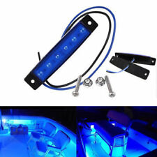 6x Marine Grade 12 volt Large Waterproof Cool Blue LED Courtesy Lights