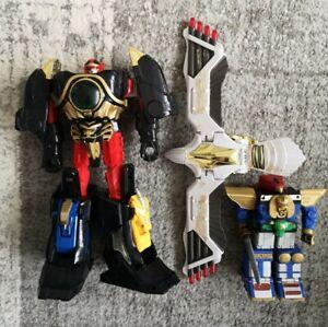 Bandai Power Rangers Megazord Spare Parts Bundle