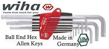 New Wiha 9 Pce ProStar Metric Hex Ball End Allen Keys     Made in Germany  369S9