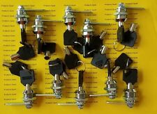 "10 Keyed Alike 5/8 inch Tubular Cam Lock 5/8"" keyed alike Cam Locks - Free ship"