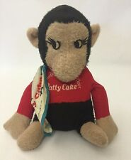 "1976 Everybody's Going Ape Over Patty Cake Monkey Plush Gorilla New York Zoo 11"""