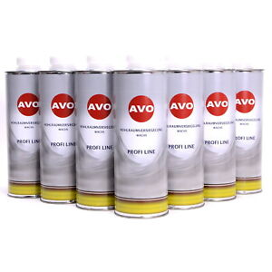 AVO Profi Line 12 x 1 Liter HV Hohlraumversiegelung Wachs Korrosionsschutz
