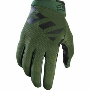 Fox 2020 Racing Mens Ranger Gloves Racing Mountain Bike BMX Fatigue Green