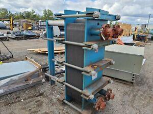 Tranter Superchanger Plate Heat Exchanger 06-V09-105 628.6 Sq. FT