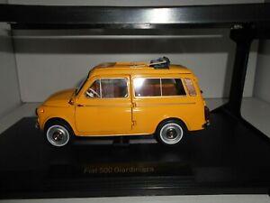FIAT 500 GIARDINIERA 1968 POSITANO YELLOW NOREV 1:18