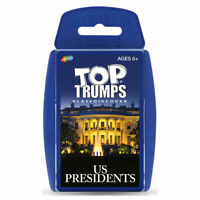 Top Trumps Card Game US Presidents